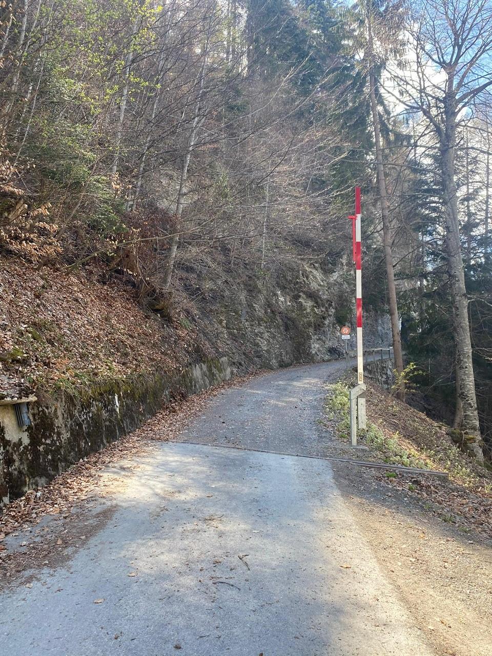Teilöffnung der Alpstrasse